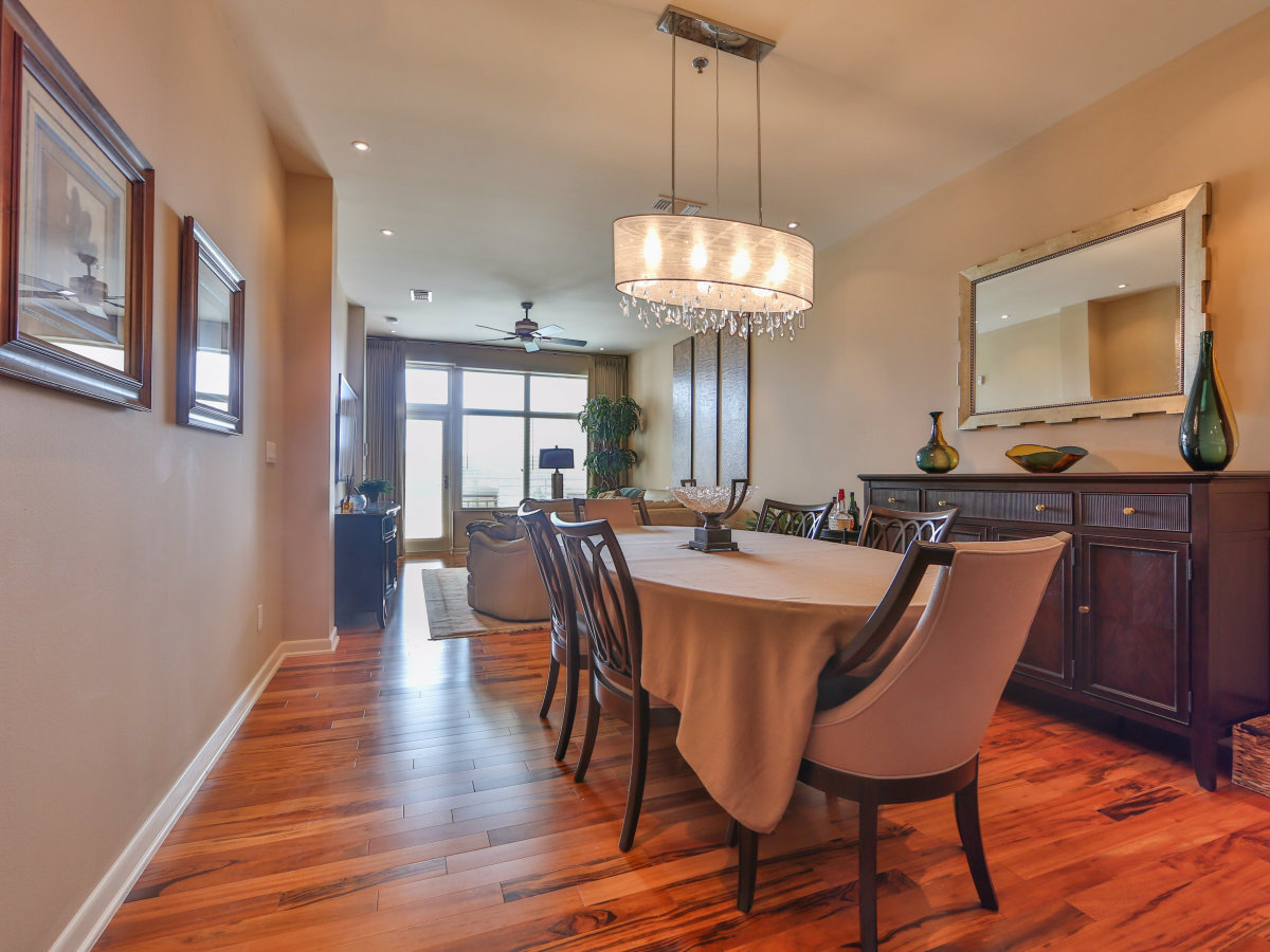 17902 La Cantera Pkwy condo for sale San Antonio dining room