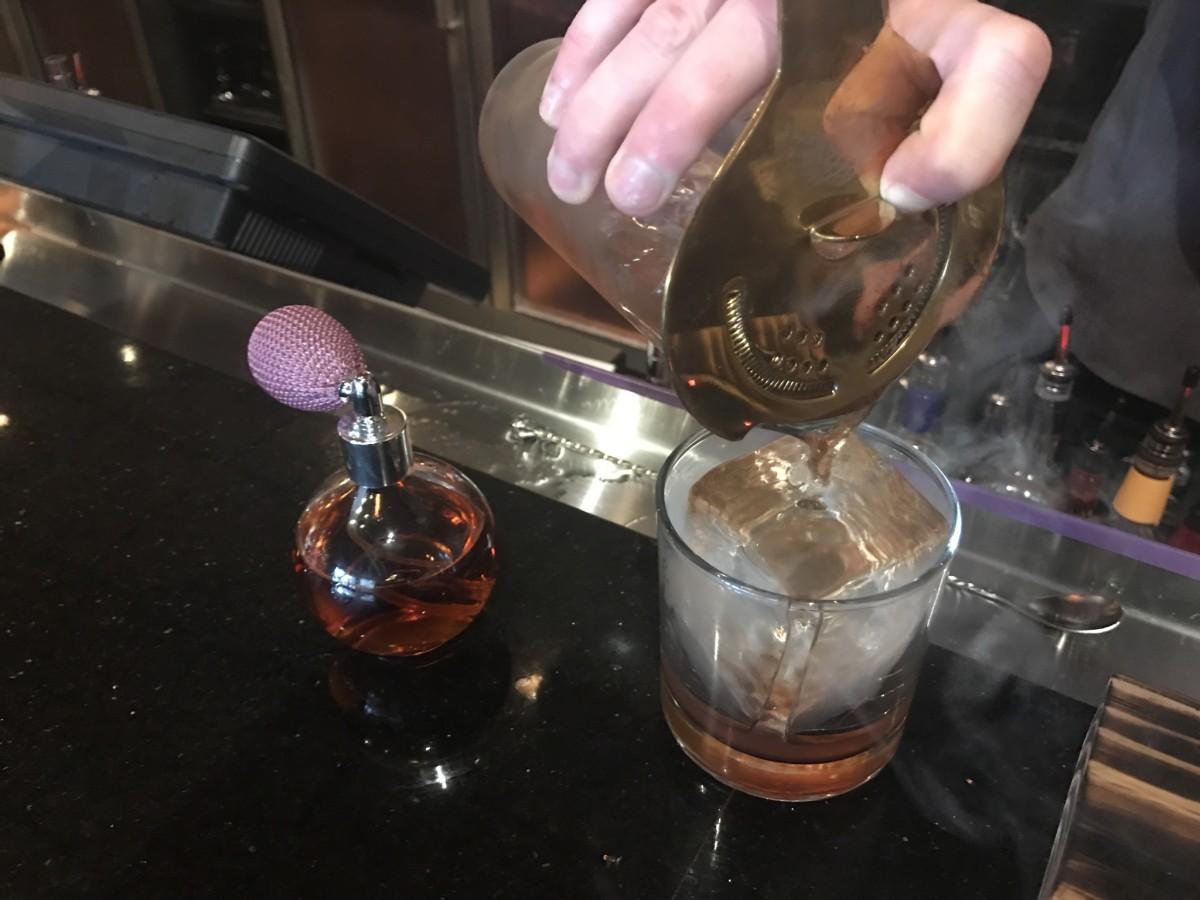 Rose Gold Midtown cocktail