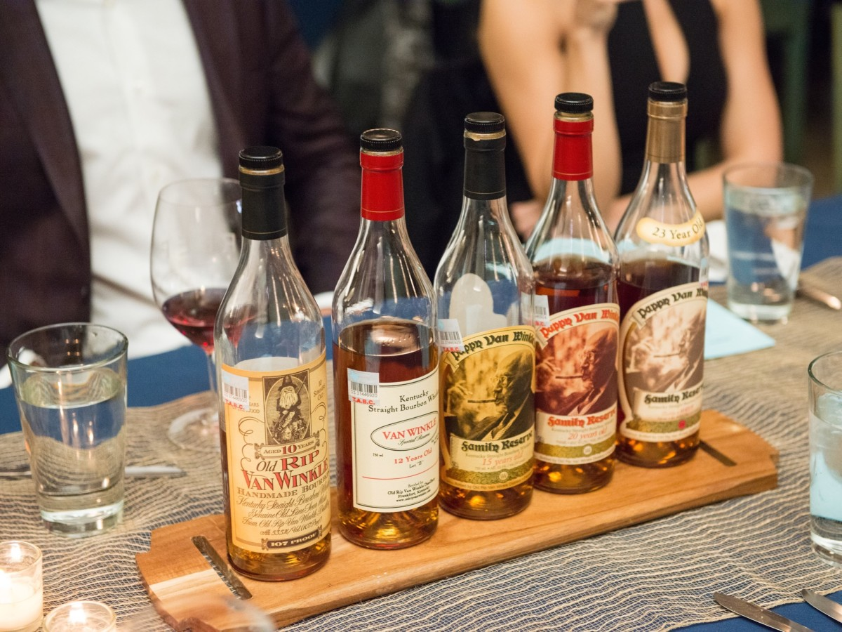 Salty Supper Pappy Van Winkle