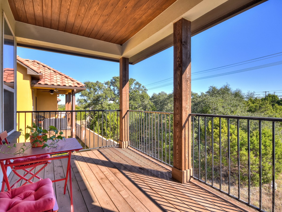 12312 Terraza Austin townhouse for sale balcony