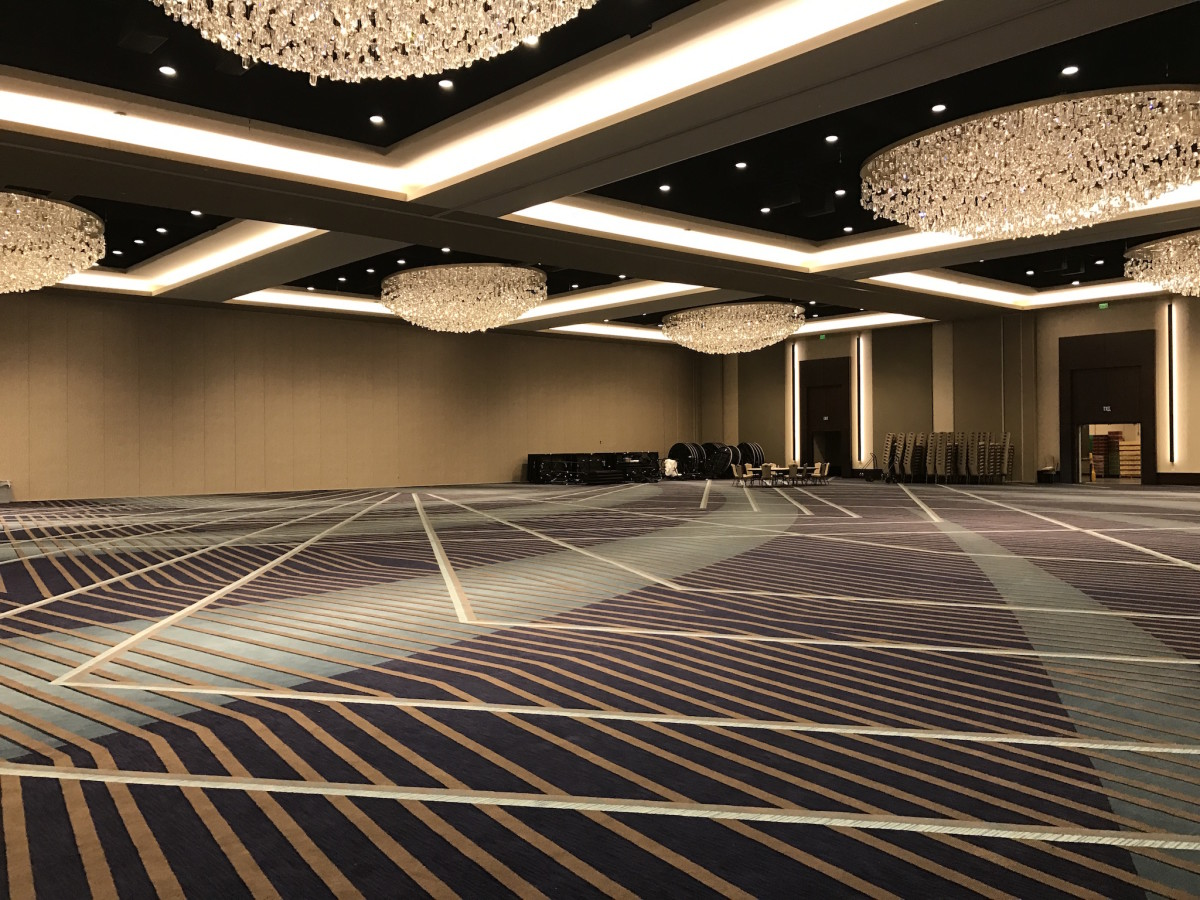 Marriott Marquis giant ballroom
