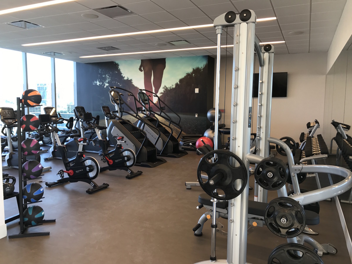 Marriott Marquis fitness center