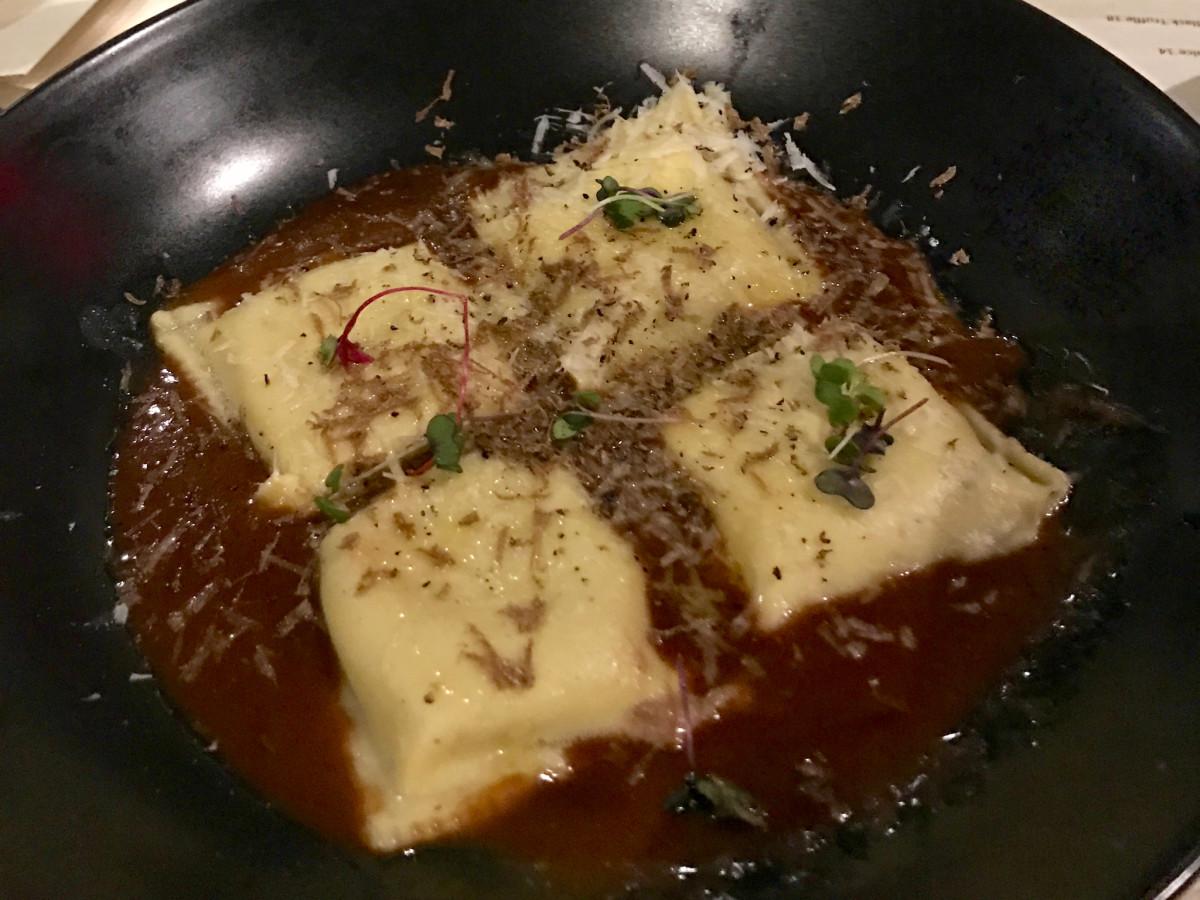 Killen's STQ short rib ravioli