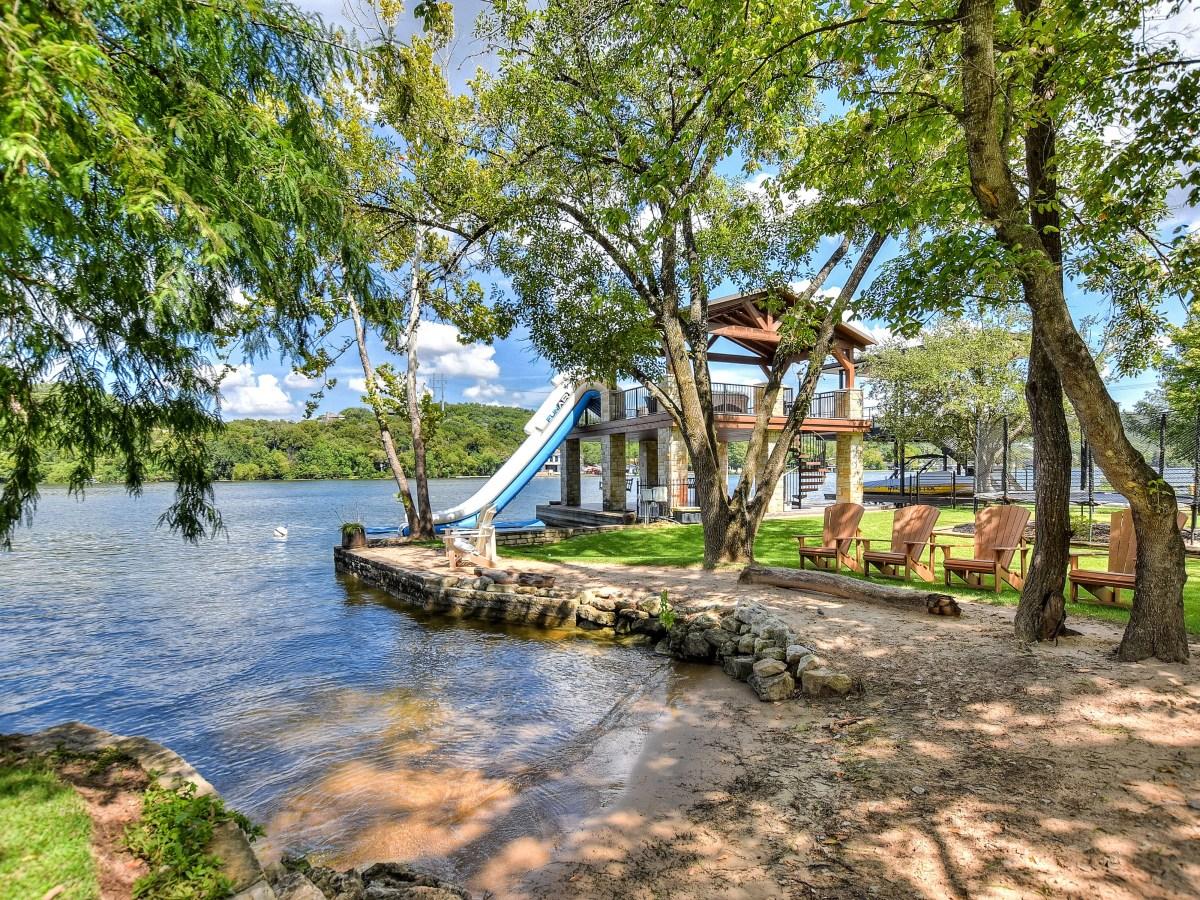 1430 Rockcliff Rd Austin house for sale beach