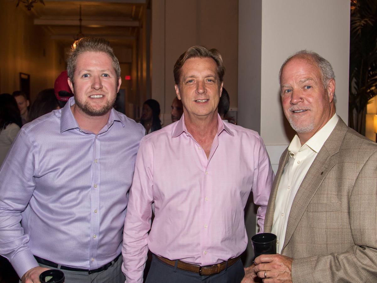Raleigh Hughes, Ken Bardsley, Scott Hughes