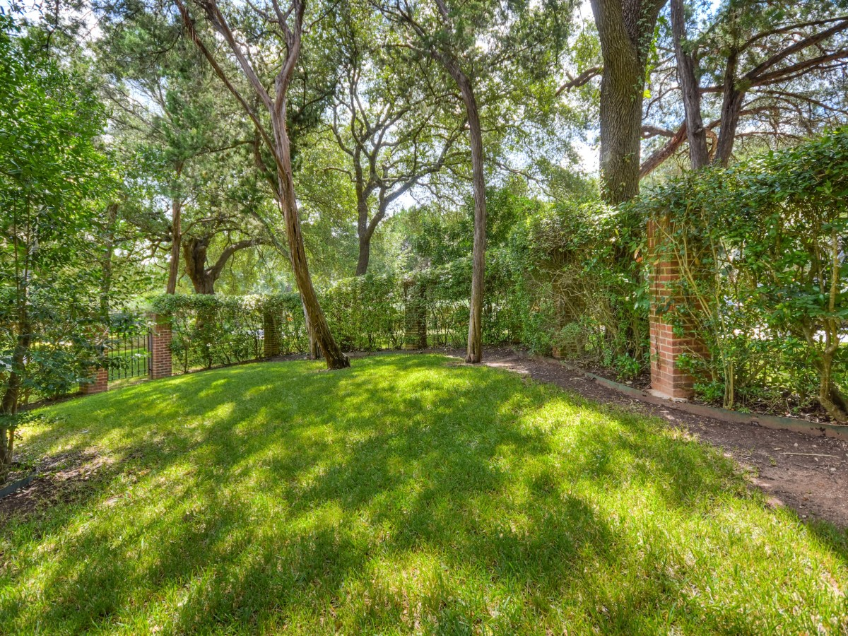 2400 Westlake Pass Austin house for sale backyard