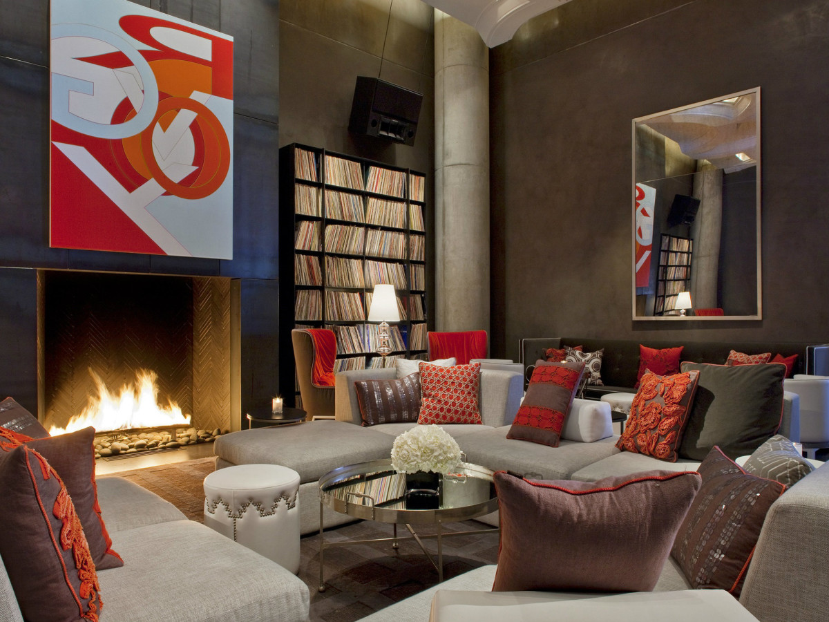 Record Room at the W Austin