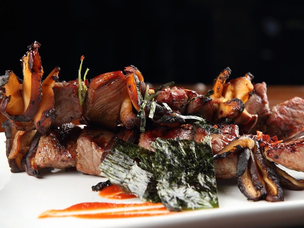 Nao ramen beef yakitori