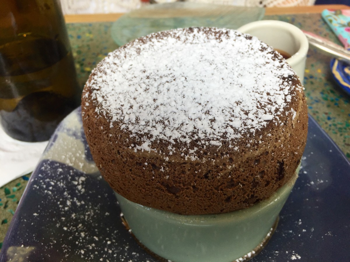 Rise No 2 Chocolate souffle