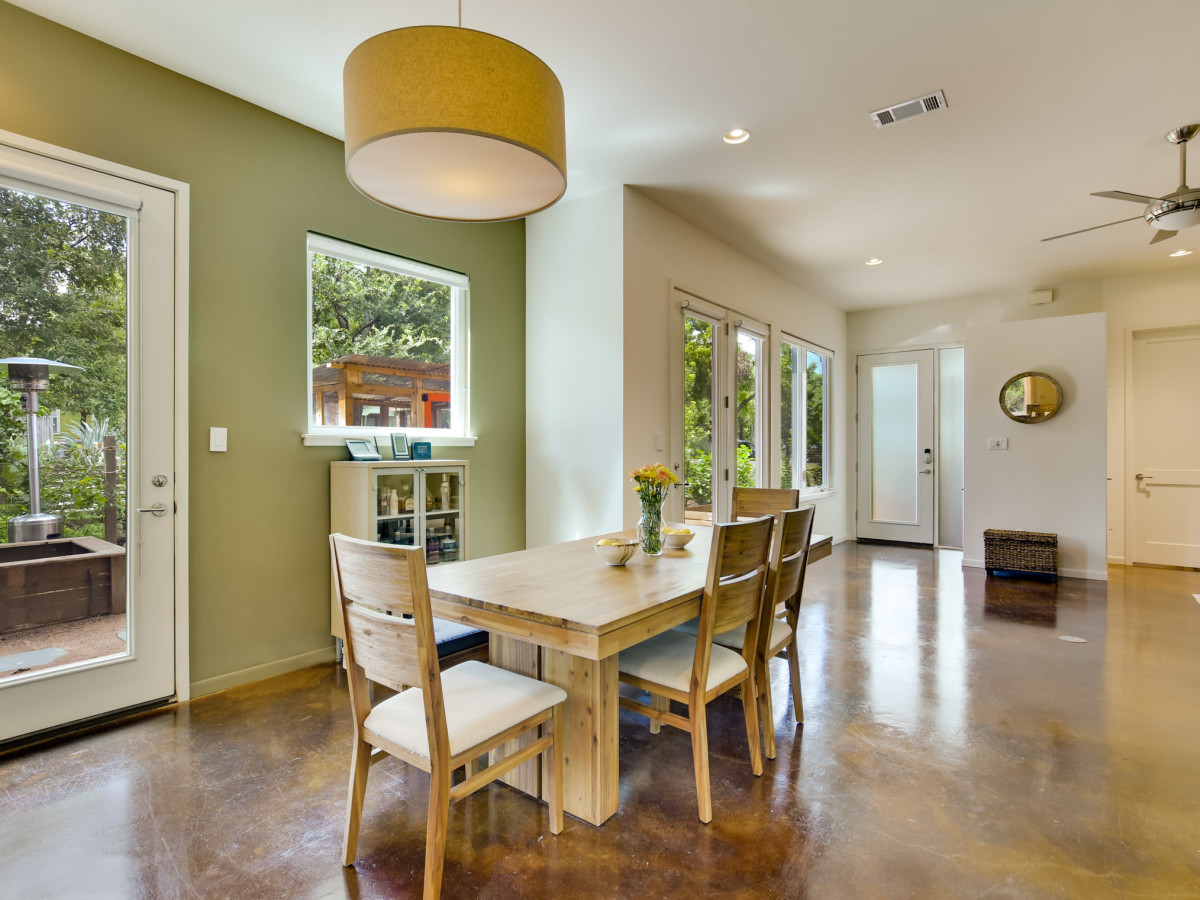 1513 3rd St. Austin house for sale dining room