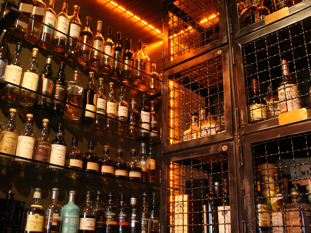 Bosscat Kitchen whiskey room
