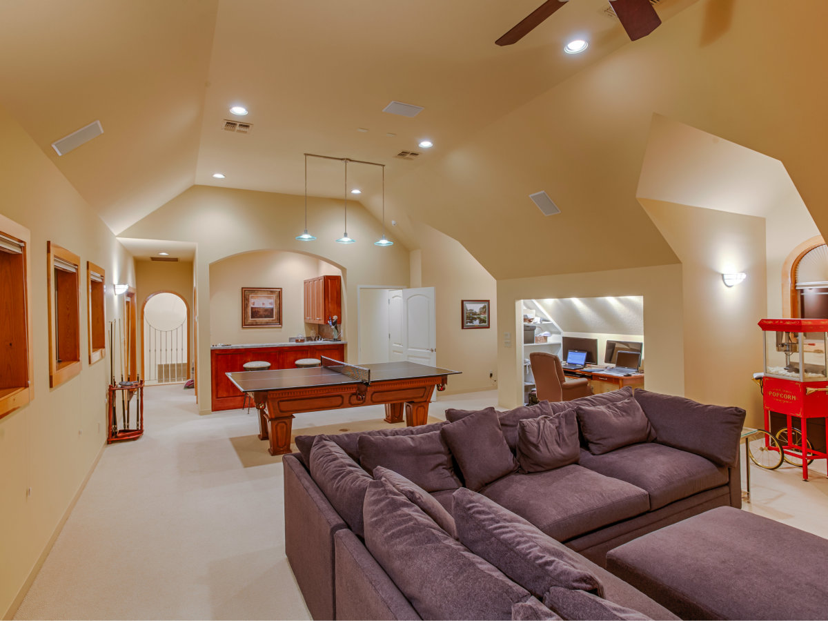22334 Angostura San Antonio house for sale media room
