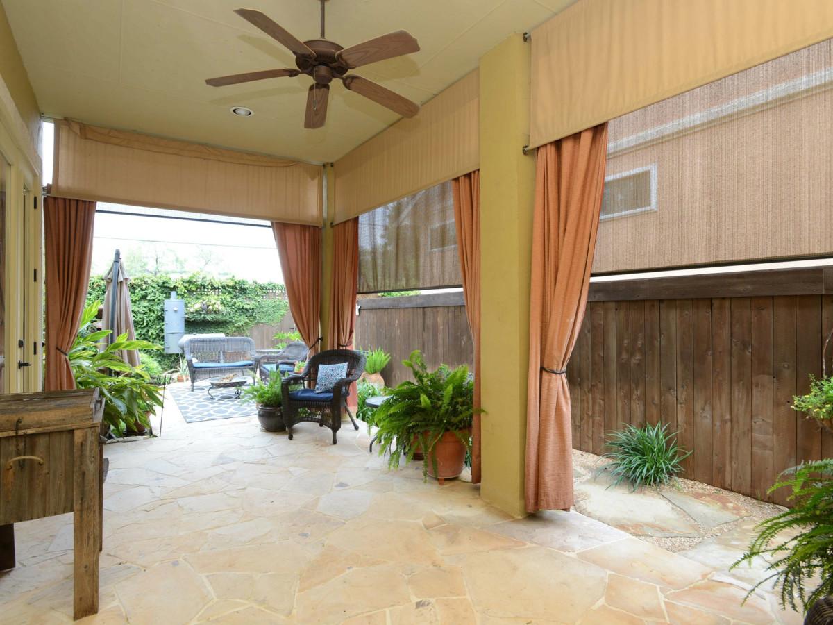 7111 Bethencourt San Antonio house for sale patio