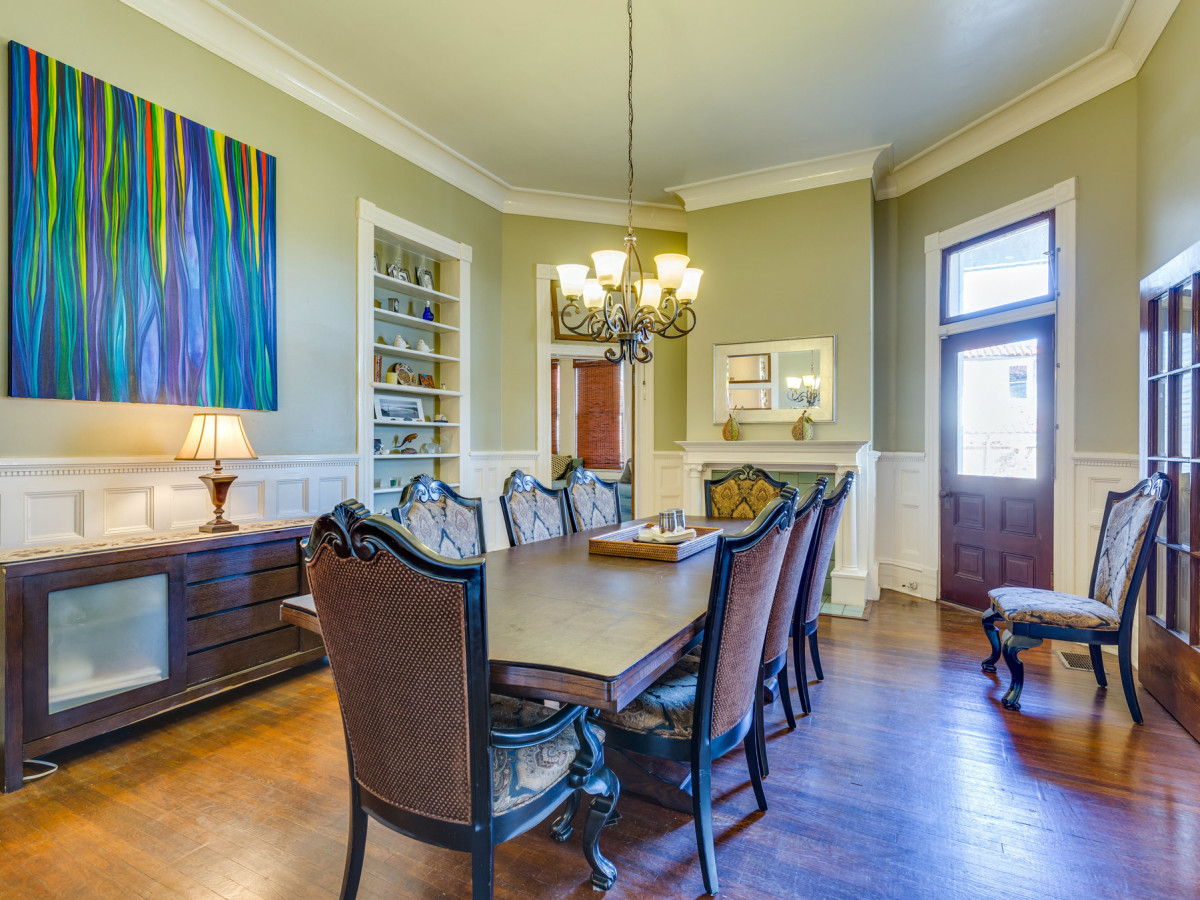 415 French Pl San Antonio house for sale dining room