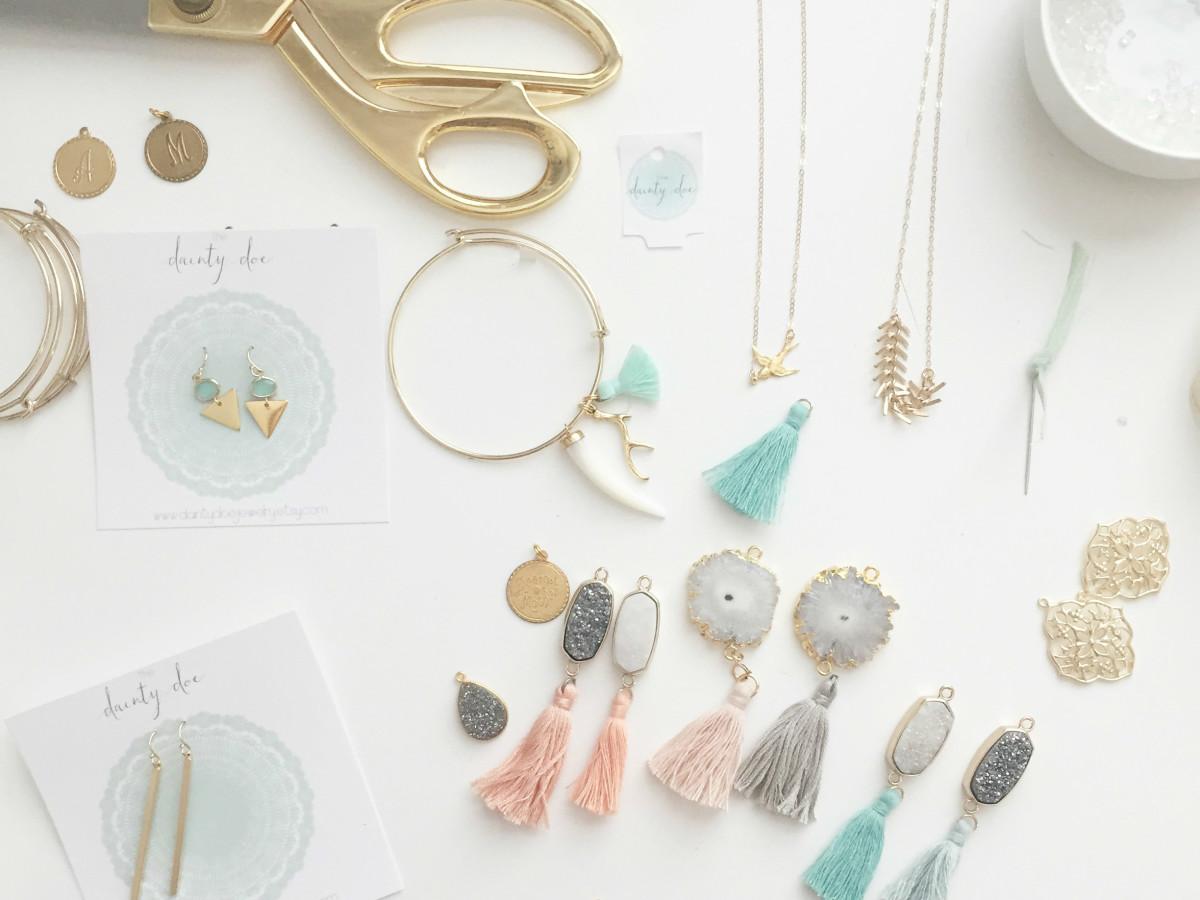 Dainty Doe Kim Norrell Necklace Designer Austin