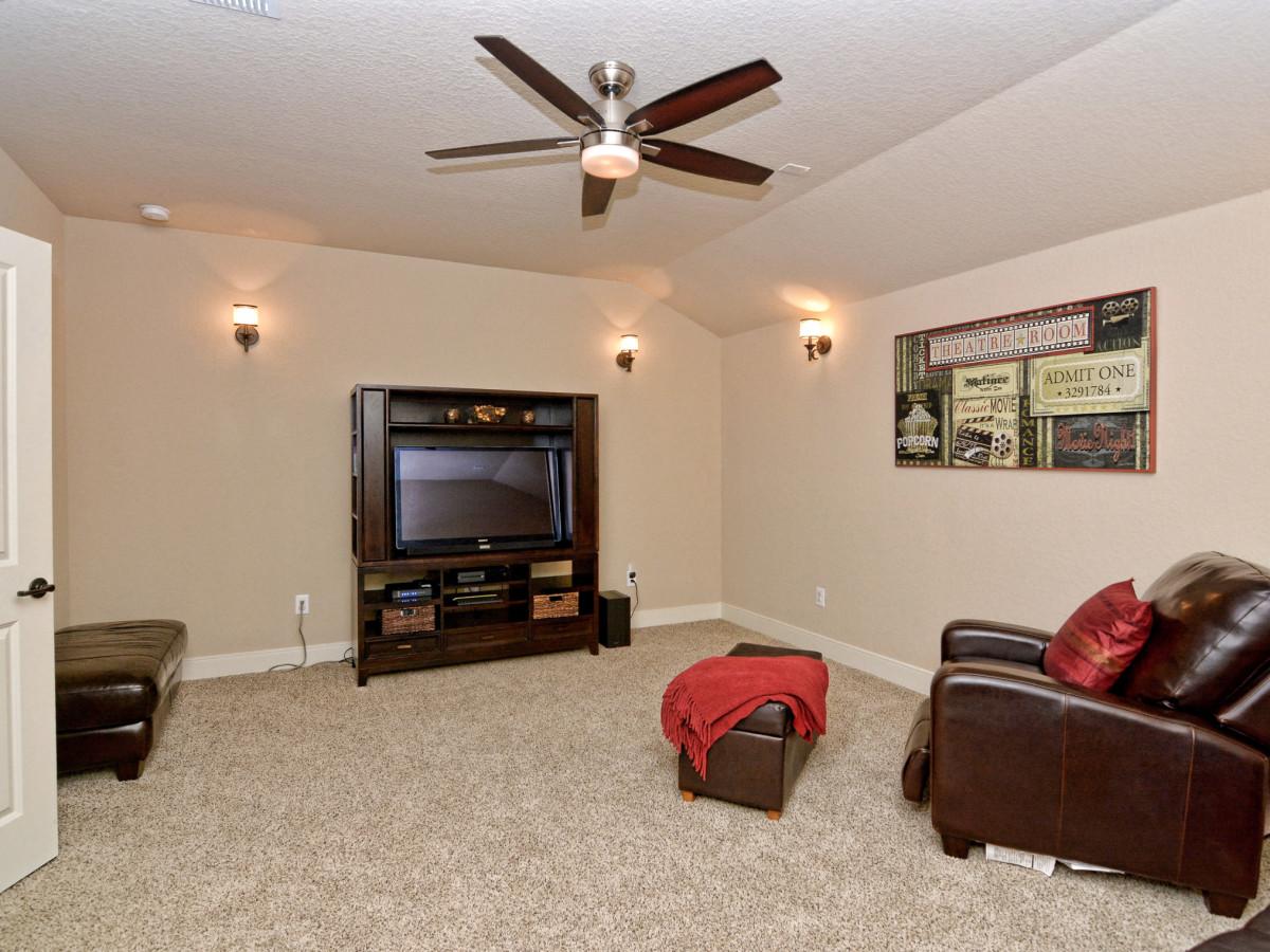 24323 Arboles Verdes San Antonio house for sale media room