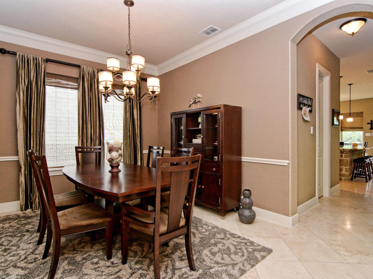 24323 Arboles Verdes San Antonio house for sale dining room