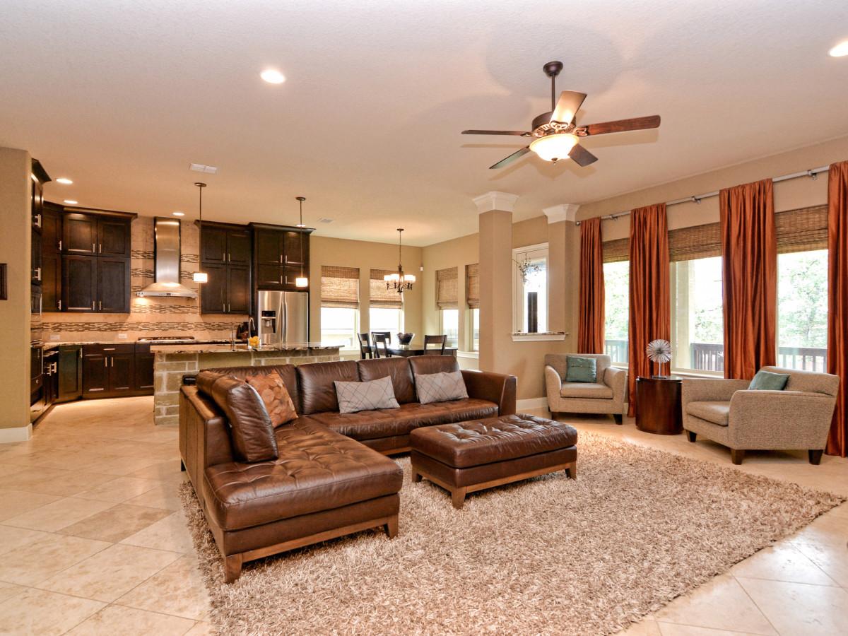 24323 Arboles Verdes San Antonio house for sale living room