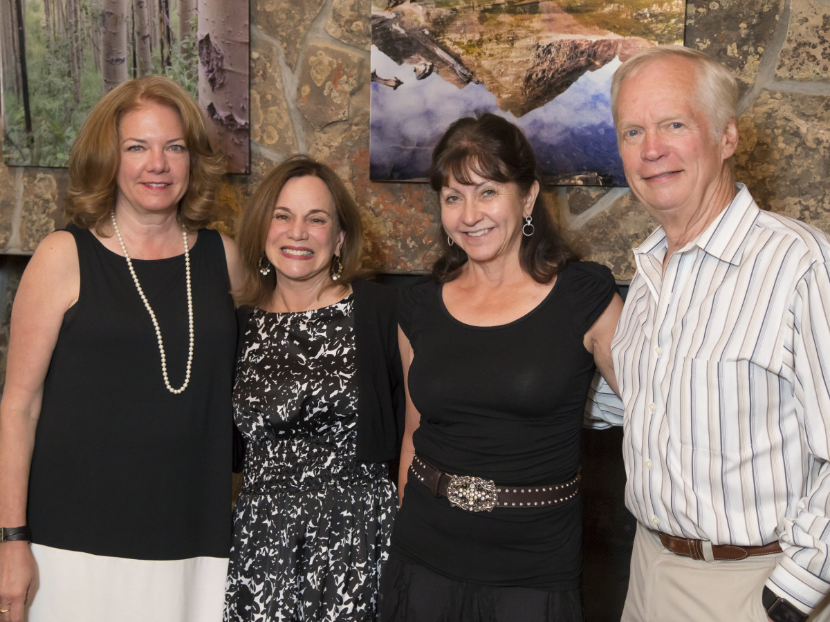 Houston PBS in Aspen, June 2016, Julia Anderson-Smith, REnee Montagne, Maria Grey, Rex Grey