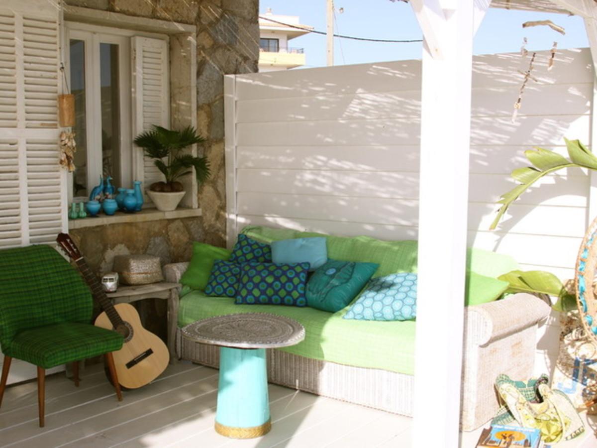 Summer porch design