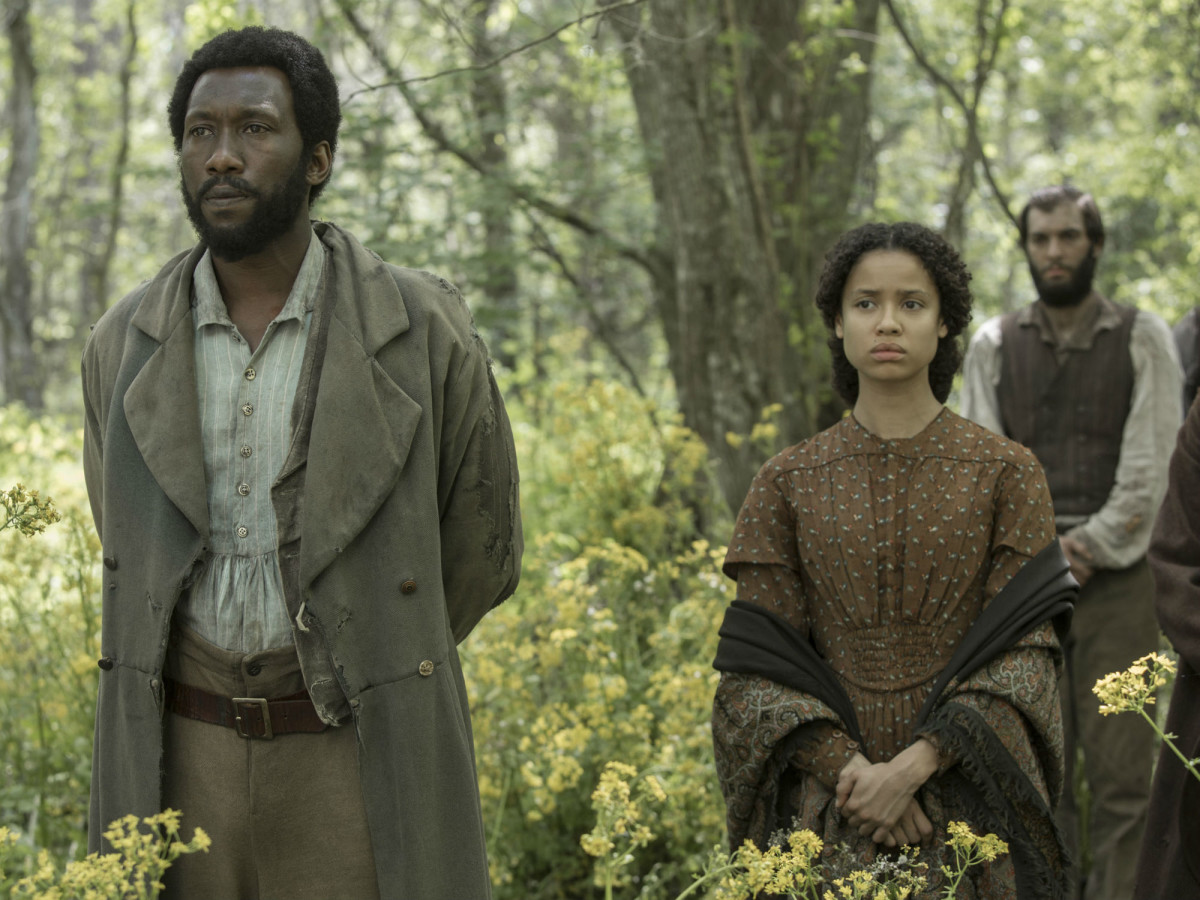 Mahershala Ali and Gugu Mbatha-Raw star in FREE STATE OF JONES] Mahershala Ali and Gugu Mbatha-Raw in Free State of Jones