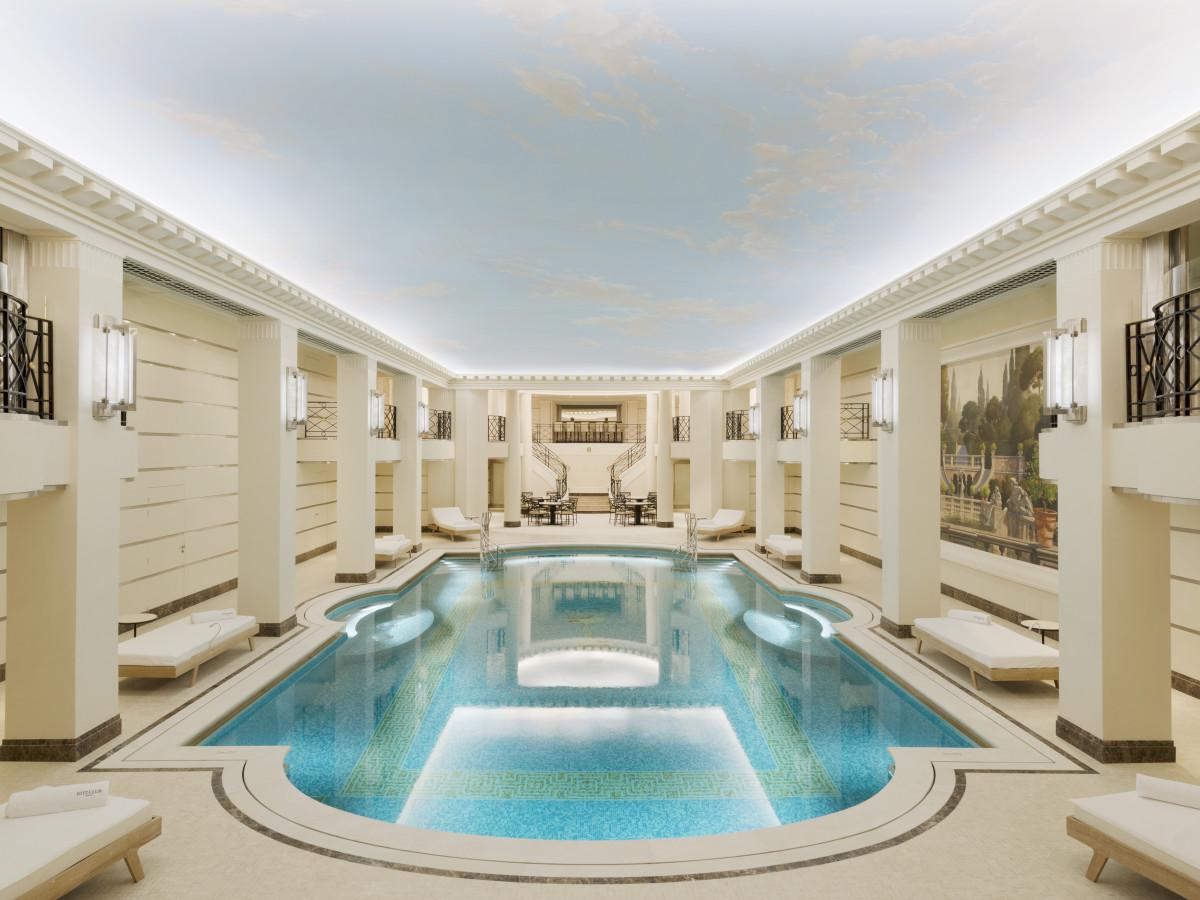 Ritz Hotel Paris, June 2016 swimming pool