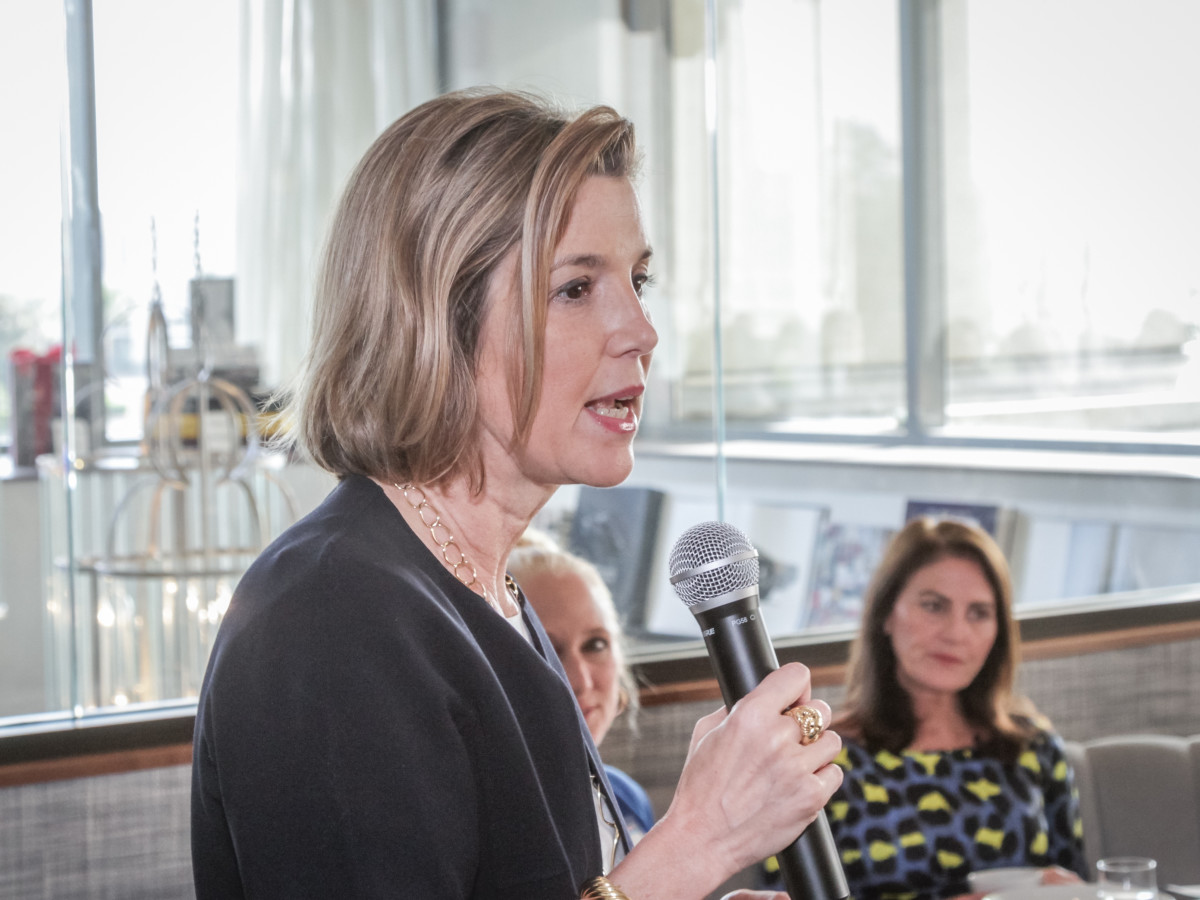 Ellevate Network breakfast 6/16 Sallie Krawcheck