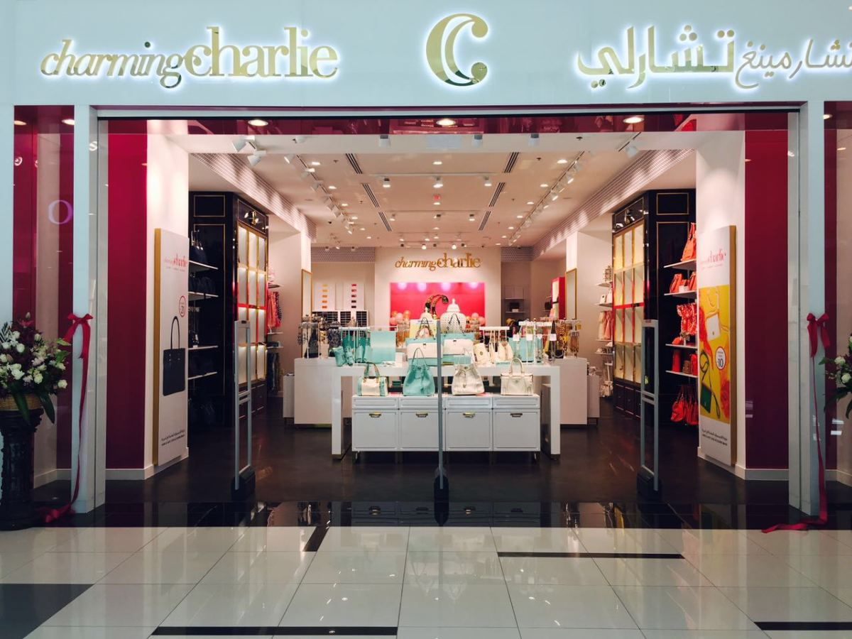 Charming Charlie Muskat Mall in Oman