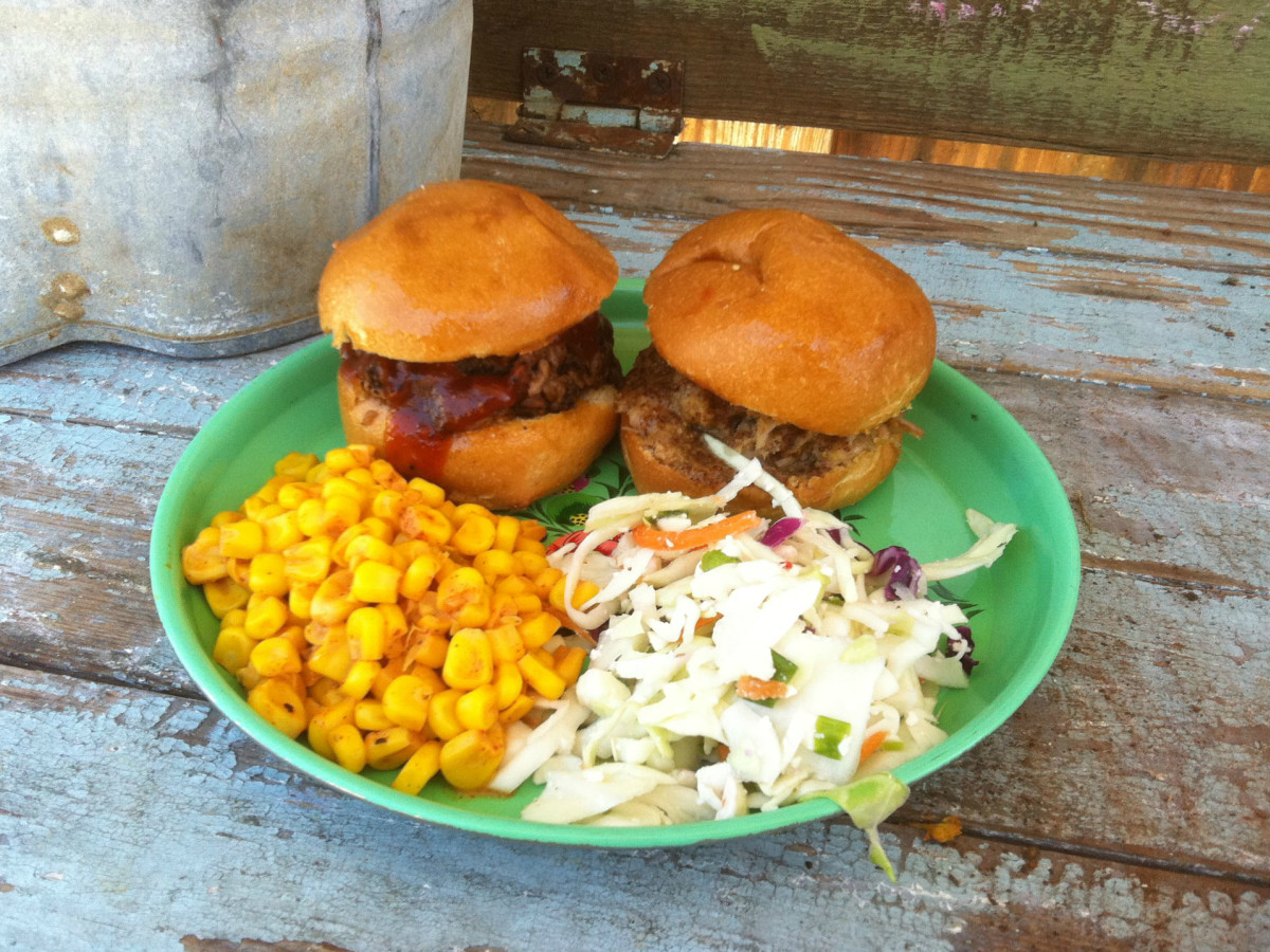 Smoke Shack San Antonio barbecue sliders
