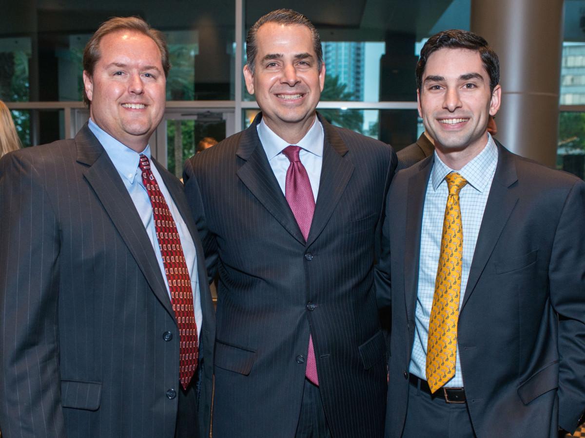 Crime Stoppers luncheon, 6/16  Bob Meehan, Ricardo Nazario, Alejandro Nazarioi