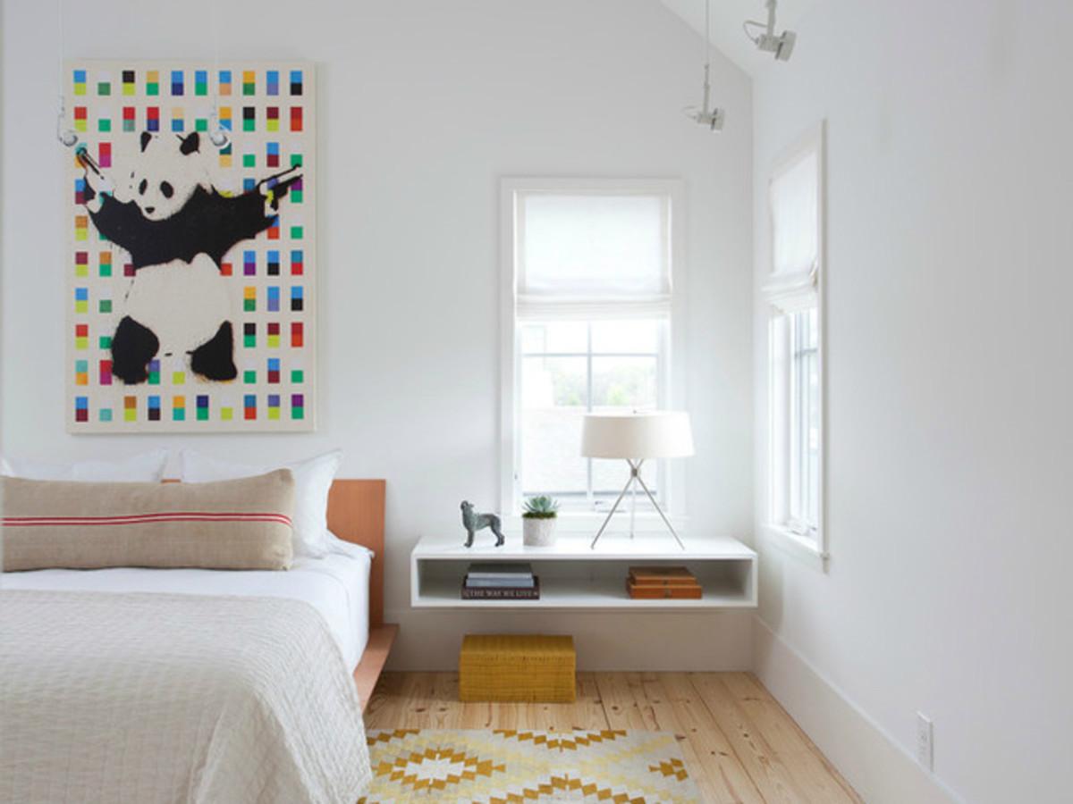 Houzz Austin home house modern Texas farmhouse bedroom