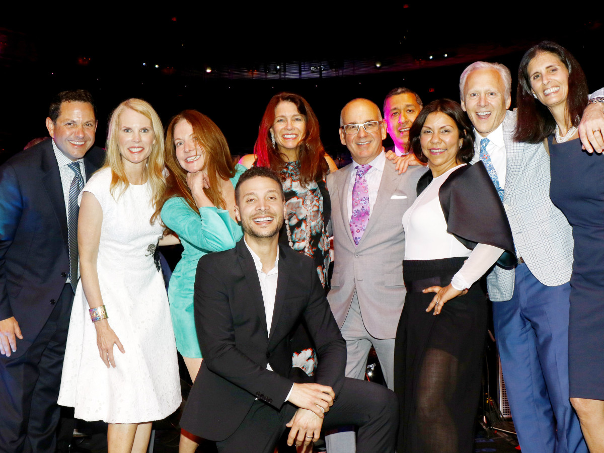 Todd and Stephanie Anderson, Megan McManemin, Kimberley Elting, Stewart Cohen, Arun and Koshi Dhingra, Jeff and Regen Fearon, Justin Guarini