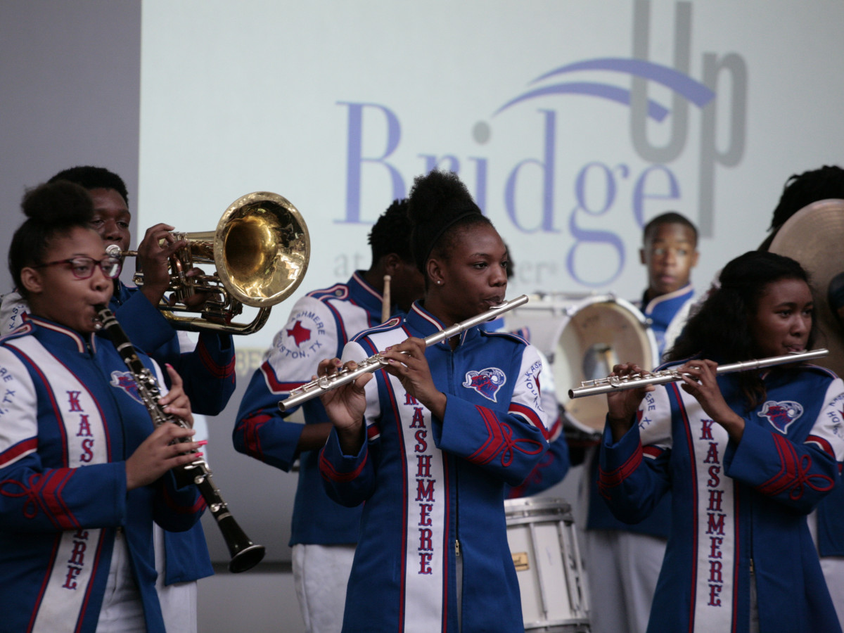 Menninger Bridge Up Kashmere High School Band
