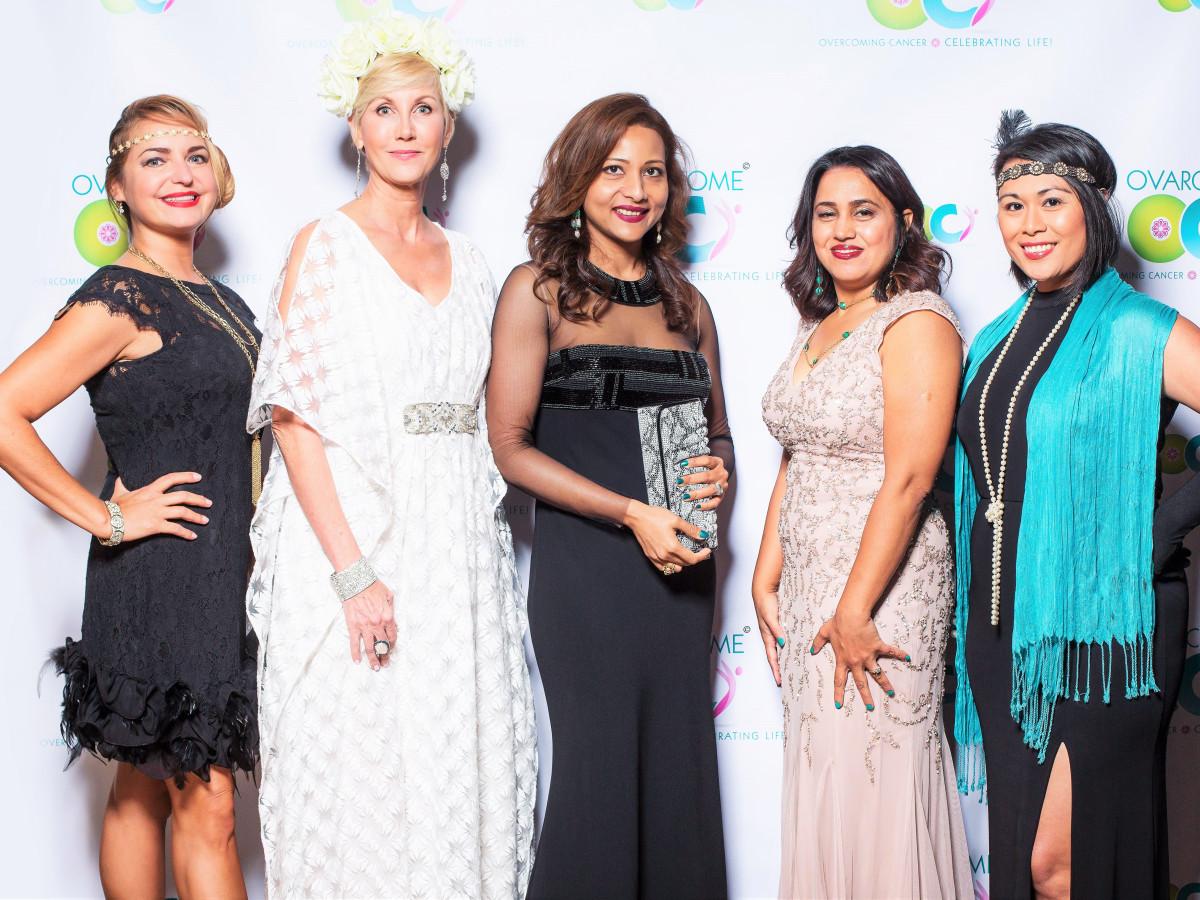 Ovarcome gala, Zory Ernull, Jerri Morre, Runsi Sen, Bhavana Bajaj, Scylla Lopez