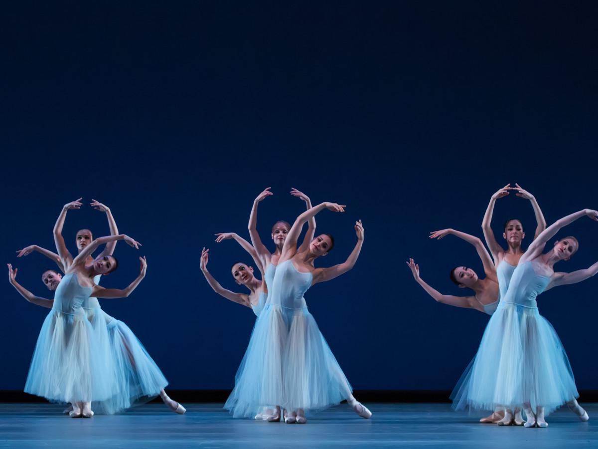 Artists of Houston Ballet in Serenade