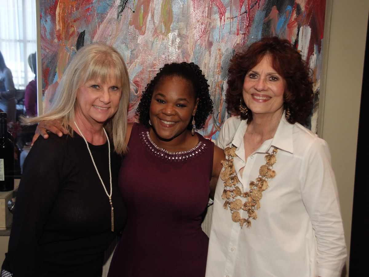 Houston, Women's Excellence in Business Series Luncheon, May 2016, Jeannie Bollinger, JaCola Caldwell, Donna Vallone