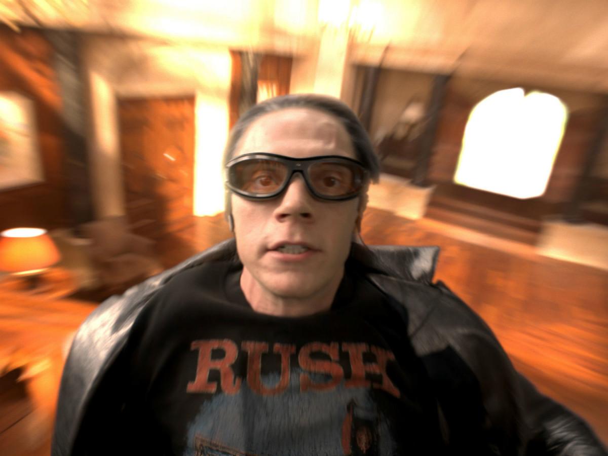 Evan Peters in X-Men: Apocalypse