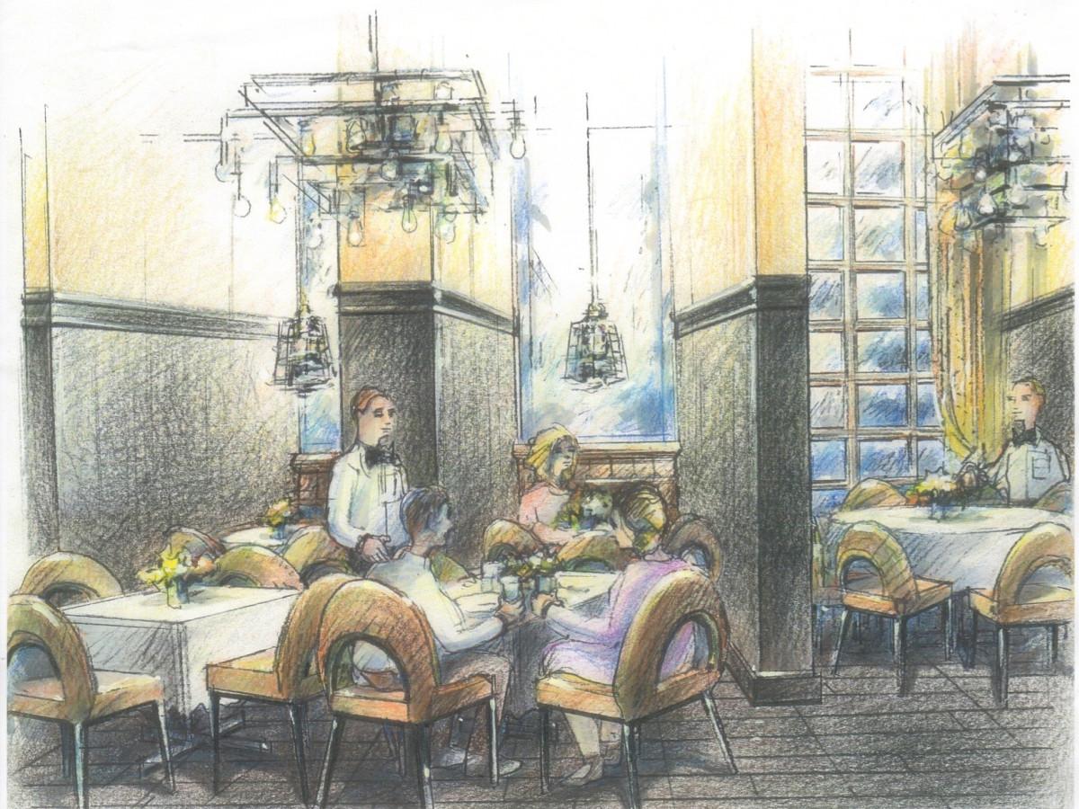 Brasserie du Parc rendering