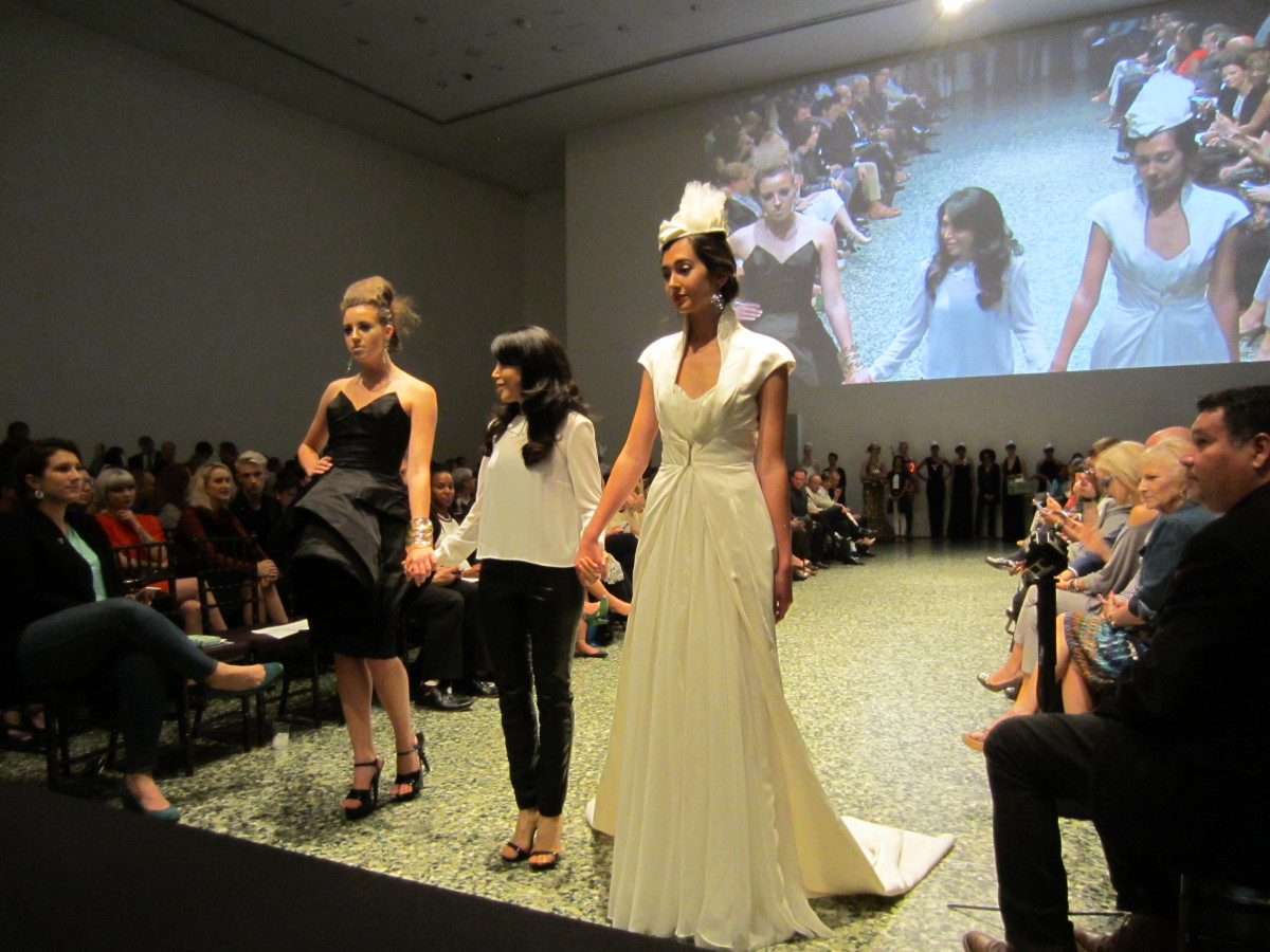 Fashion Fusion runway by Teresa Rangel