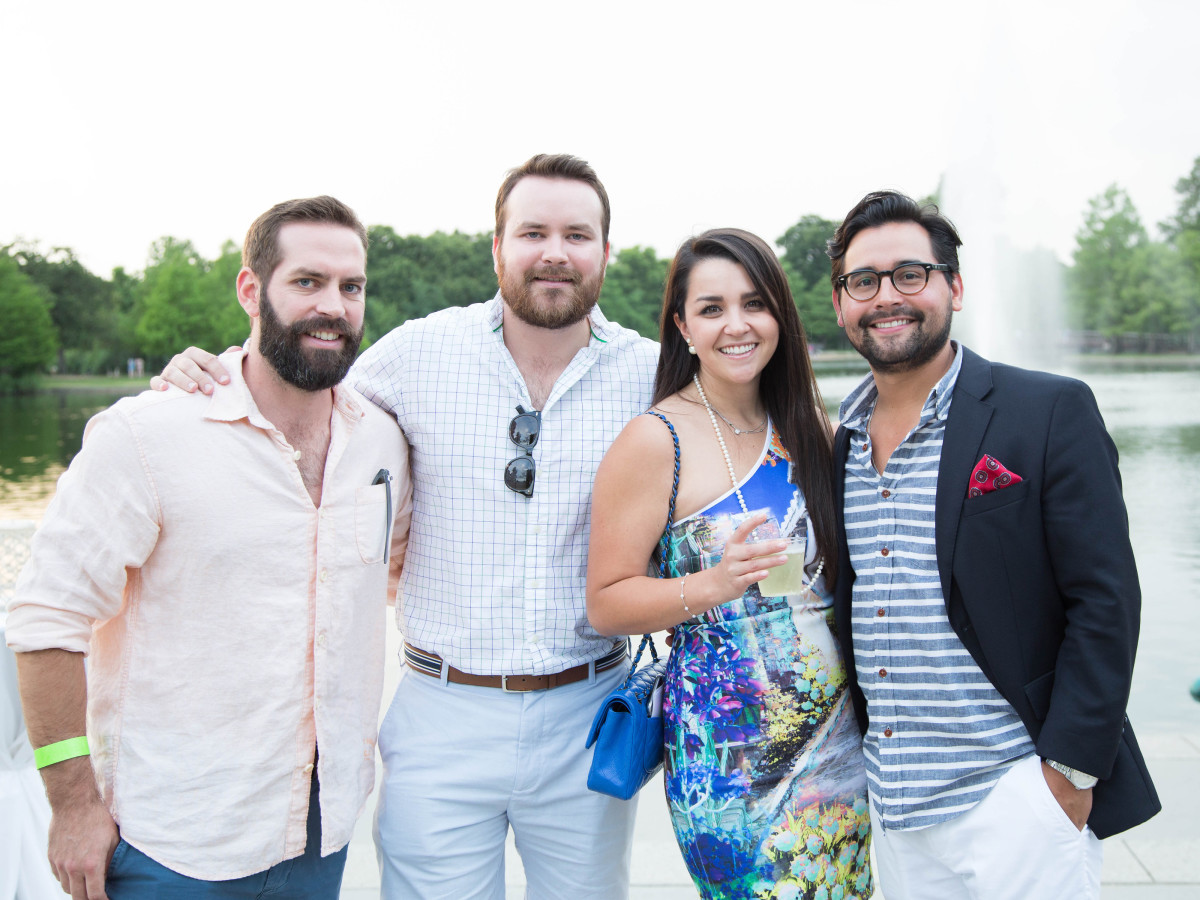 Urban Green Overboard party, Rob Davis, Matt Davis, Sara-Ashley Hernandez, Adrian Moreno