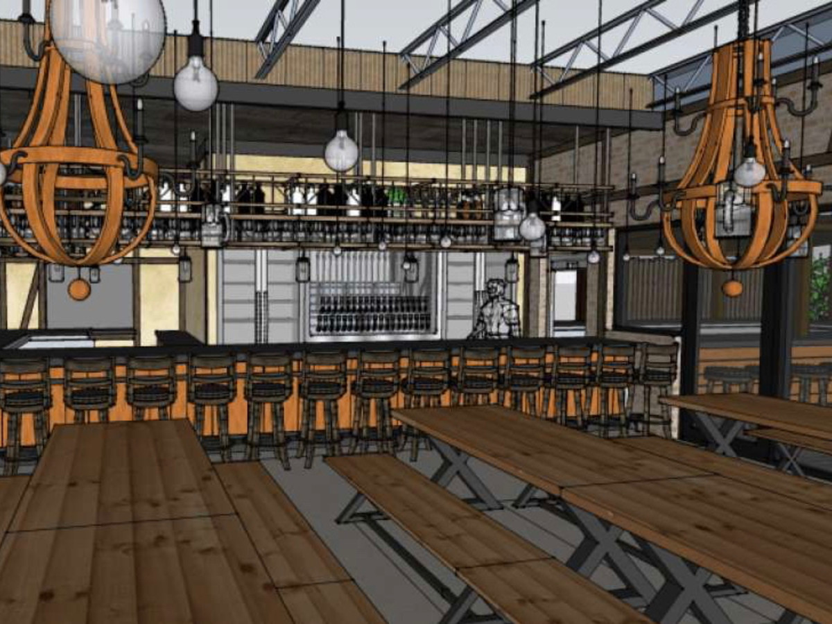King's BierHaus rendering