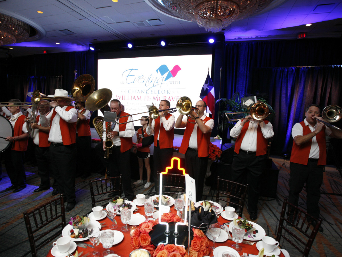 Texas Children's Cancer Center dinner,5/16  Longhorn band
