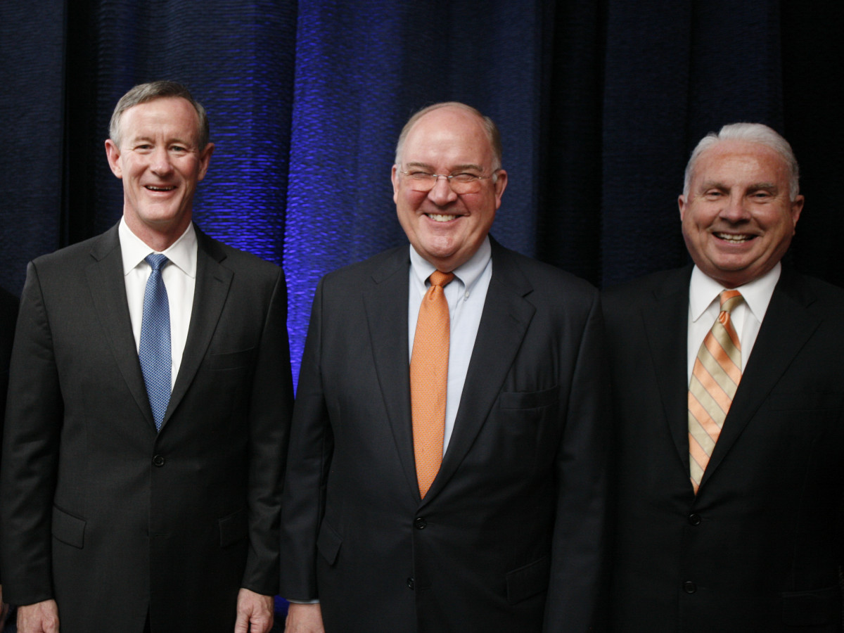 Texas Children's Cancer Center dinner, 5/16 Bill McRaven, Mike Perrin, Mark Wallace