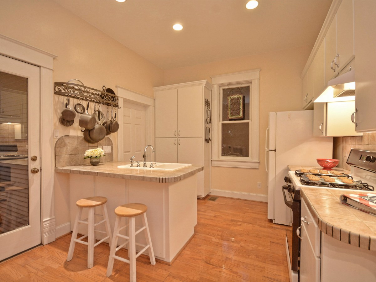 Austin home house 2416 S 2nd Street 78704 kitchen
