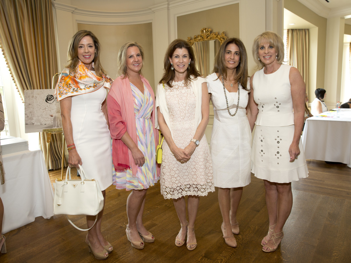 Houston, I Am Waters 5th Annual Supermodel Luncheon, May 2016, Dee Howes, Dawn Krieg, Lisa Sherrill Leda Netland, Bethany Hughes
