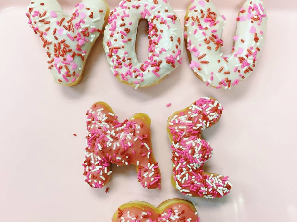 Master Donuts Austin bakery alphabet letter