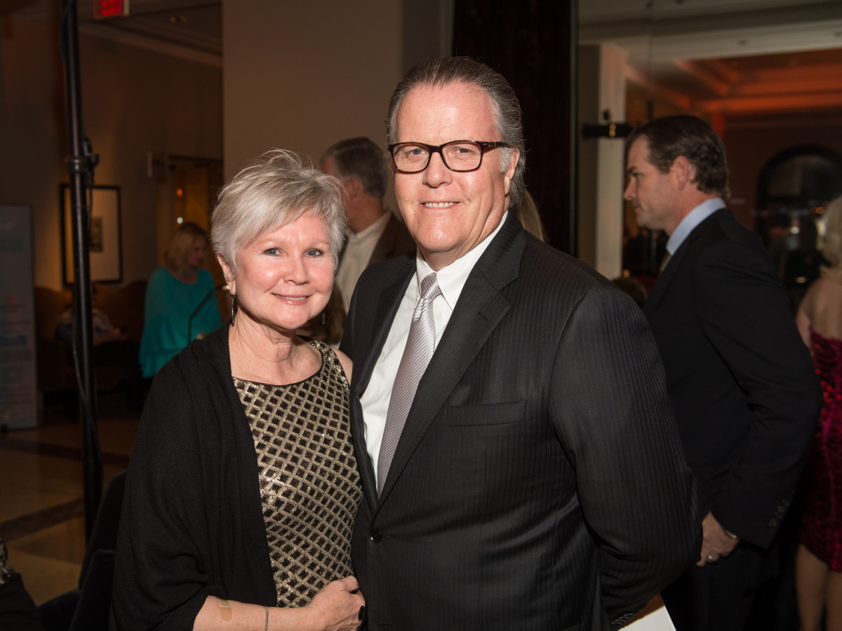 Be An Angel gala 5/16. Pam Breeding, John Breeding
