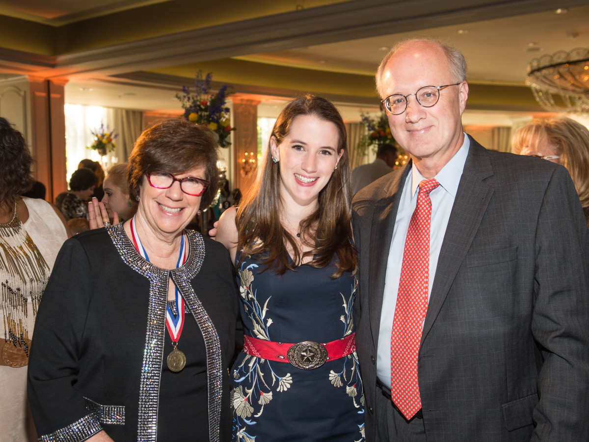 Be An Angel gala 5/16.  Dr. Joan Shook, Hannah Starke, Jeff Starke