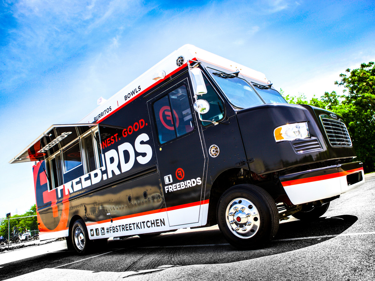 Freebirds World Burrito food truck