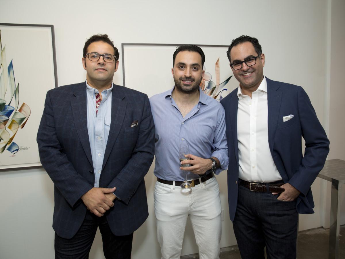 UNICEF Art Auction, 5/16 Lutfi Rukab, Ali Ansari, Ali Kooros